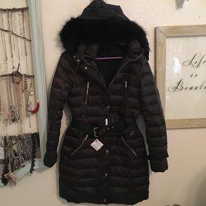 febcce5d Zara Jackets & Coats | Nwt Water Resistant Down Jacket Parka | Poshmark